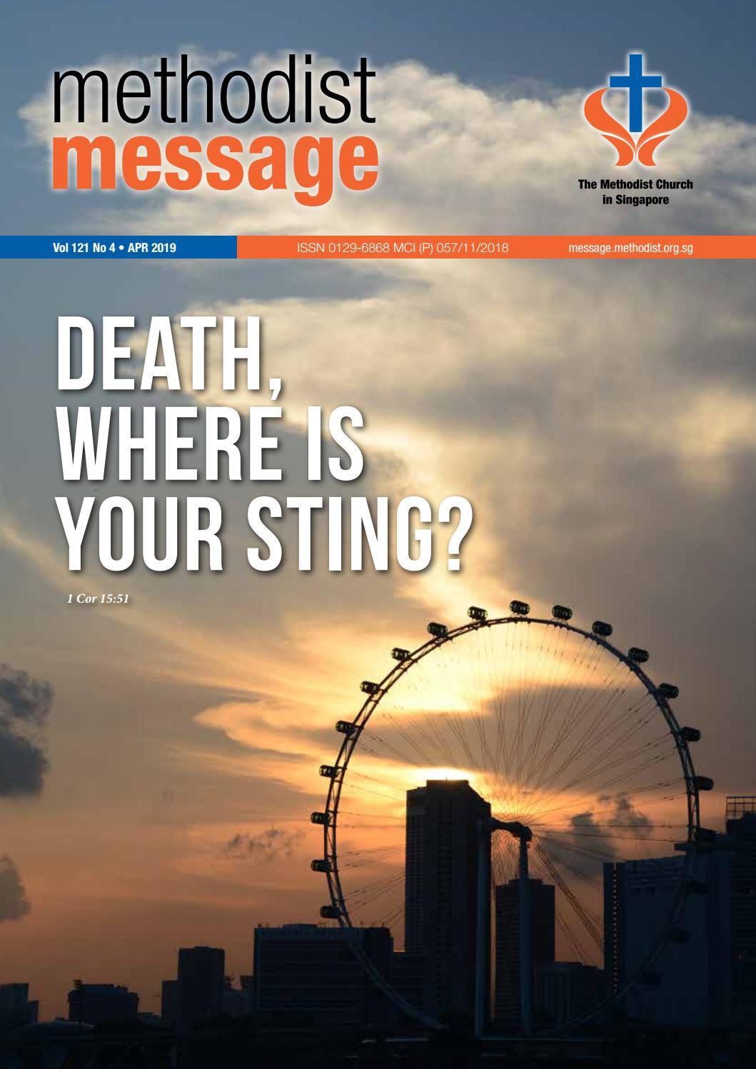 efa125a8d32 Methodist Message  April 2019 by Methodist Message - issuu