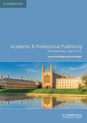 Academic & Professional Publishing by Cambridge University