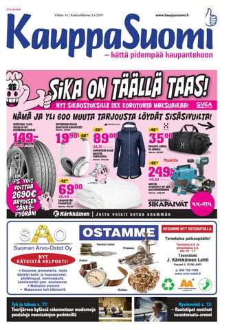 huge selection of 9794c a4a56 KauppaSuomi 14 2019 (E) by KauppaSuomi - issuu