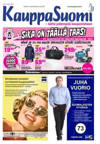 best website 63d63 ce537 KauppaSuomi 14 2019 (K-P) by KauppaSuomi - issuu