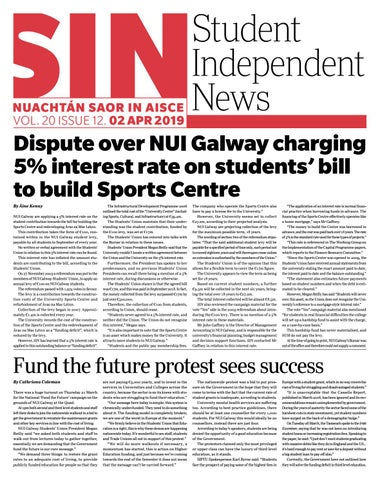 1929b464524 Issue 12 Volume 20 by Student Independent News - issuu