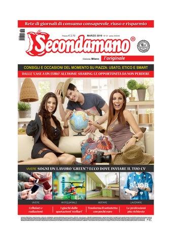 b24b338821 Secondamano Milano marzo 2019 by Edit Italia S.r.l. - issuu