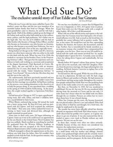 Page 30 of  The untold story of Fast Eddie and Sue Granata