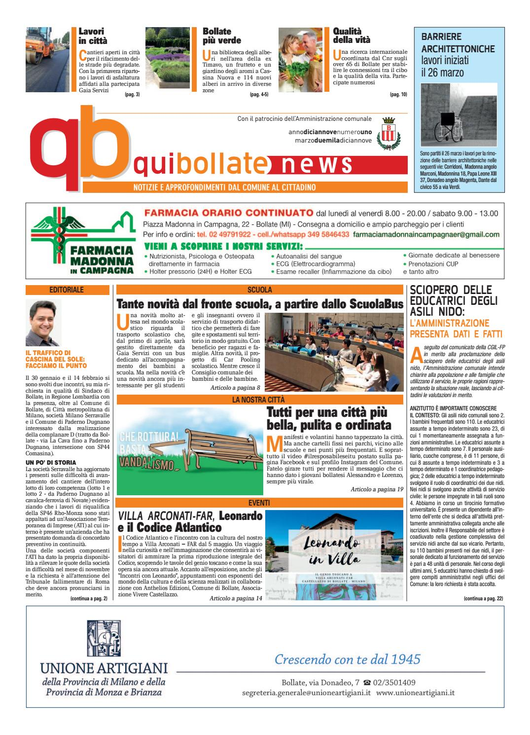 ce656d64c5f0 QuiBollate news marzo 2019 by Lime Edizioni Milano - issuu