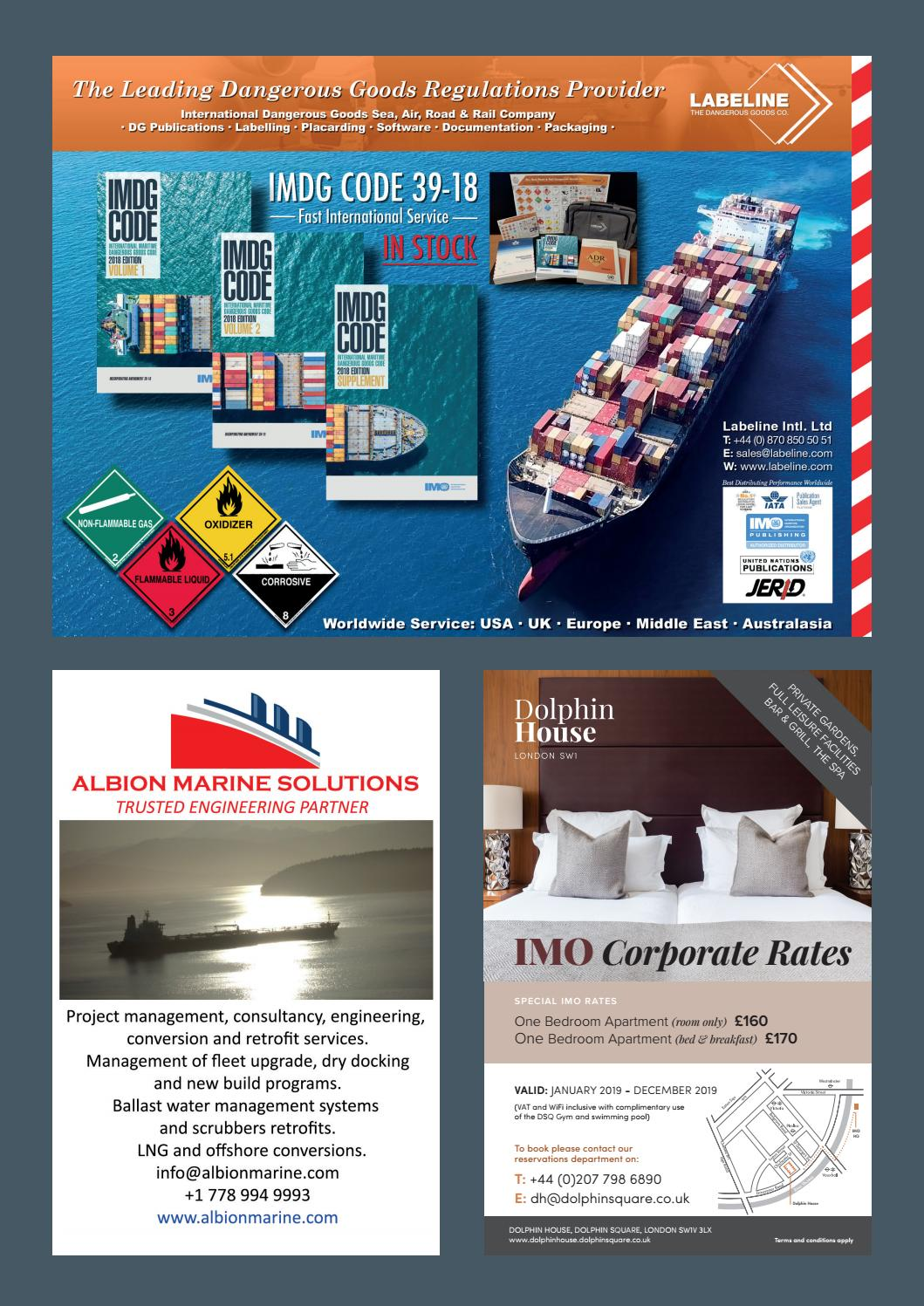 IMO News - Spring Issue - 2019 by IMO News Magazine - issuu