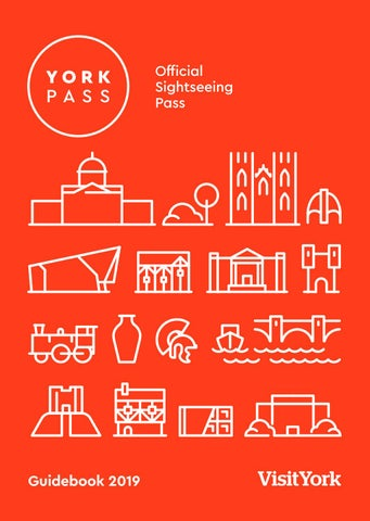 York Pass Guidebook 2019/20 by Visit York - issuu