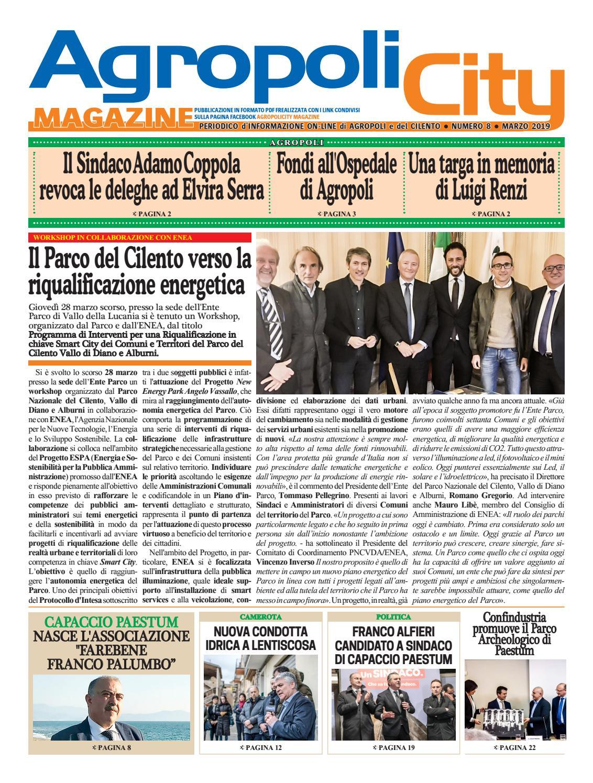 Agropoli City Magazine Marzo 2019 By Agropoli City Magazine Archivio 1 Issuu