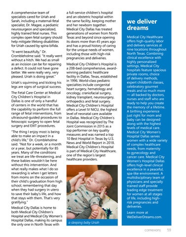 Page 59 of Kicking the Odds: The First Baby in North Texas to Undergo Surgery Before He Was Born