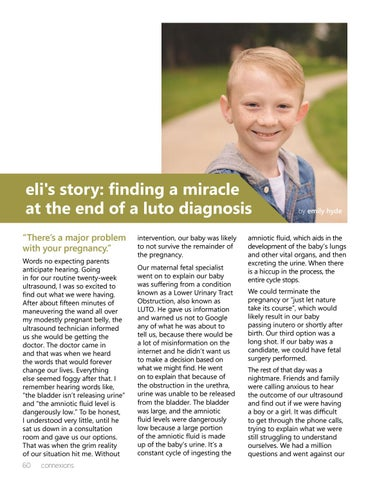 Page 60 of Eli's Story: Finding a Miracle at the End of a LUTO Diagnosis
