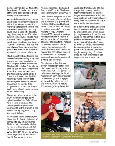 Page 61 of Eli's Story: Finding a Miracle at the End of a LUTO Diagnosis