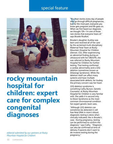 Page 66 of Rocky Mountain Hospital for Children: Expert Care for Complex Congenital Diagnoses