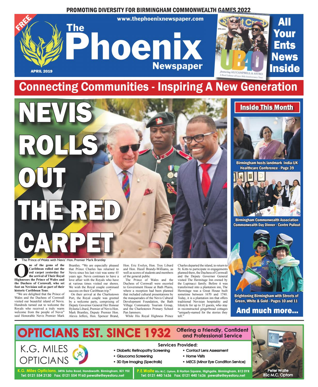 The Phoenix Newspaper - April 2019 by The Phoenix Newspaper - issuu