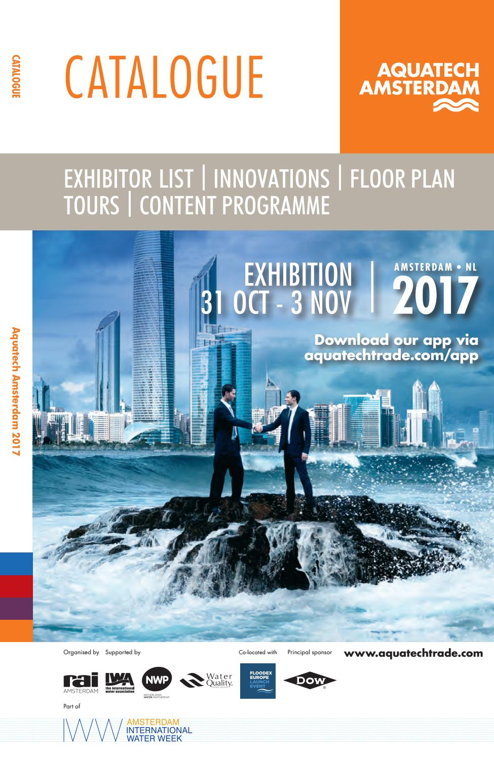 Lavoro A Manchester 2017 aquatech amsterdam 2017 - catalogue by rai amsterdam - issuu