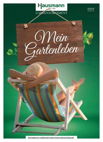 Hausmann Gartenmobel Katalog 2019 By A Hausmann Gmbh Issuu