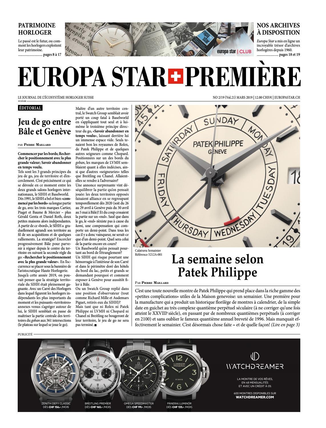 Europa Star Premiere 2 19 By Europa Star Hbm Issuu
