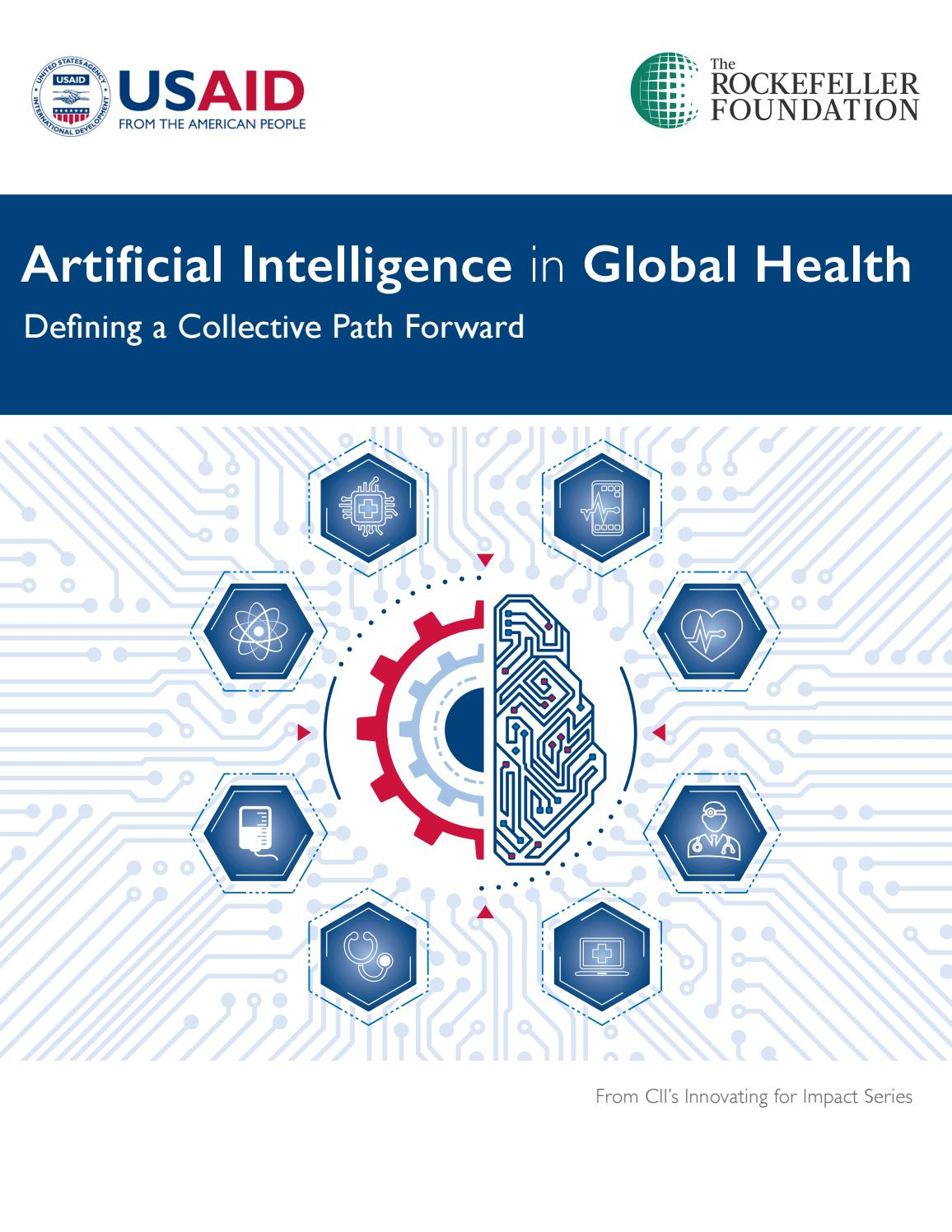 Artificial Intelligence in Global Health: Defining a