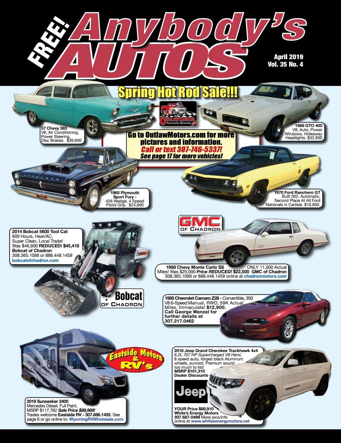April 2019 by Anybodys Autos - issuu
