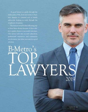 B-Metro's Top Flight Lawyers by Fergus Media - issuu