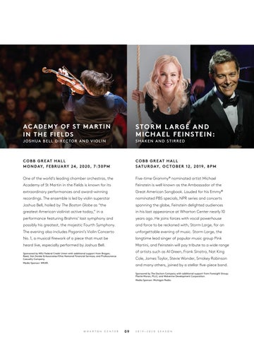 Page 11 of Performing Arts at Wharton Center