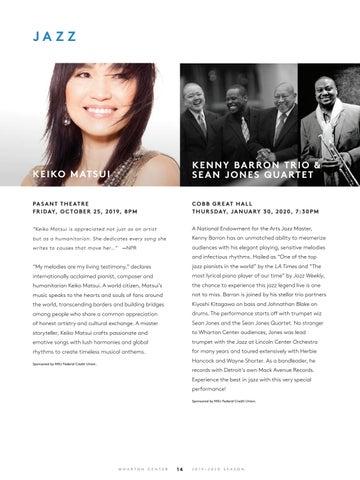Page 16 of Jazz at Wharton Center