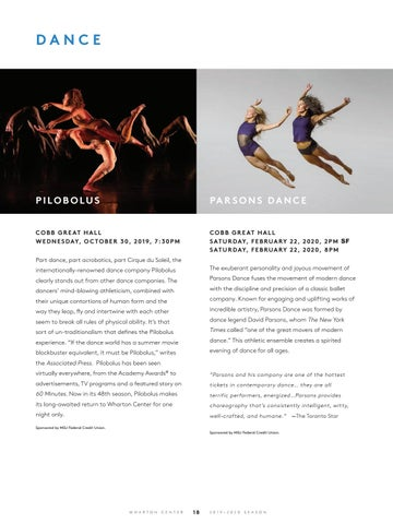 Page 20 of Dance at Wharton Center