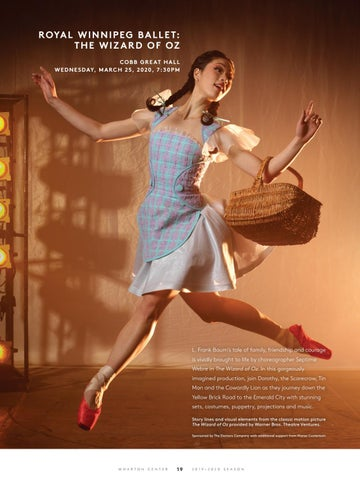 Page 21 of Dance at Wharton Center