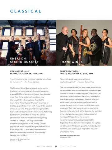 Page 9 of Classical Performances at Wharton Center