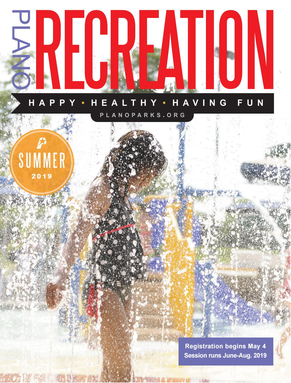 Plano Parks and Recreation Summer 2019 Catalog by Plano