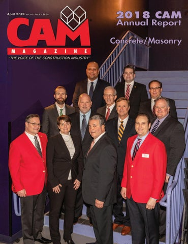April 2019 CAM Magazine by Construction Association of