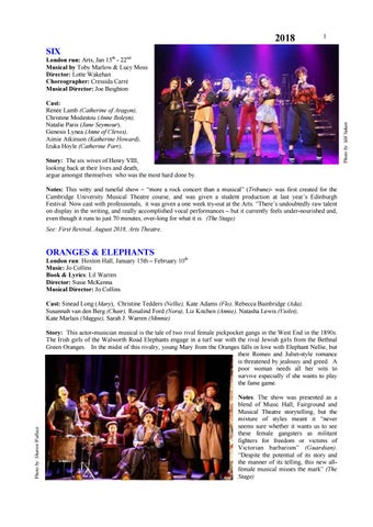 c1821e2f5 London%20musicals%20new%202018 by Ian Parsons - issuu