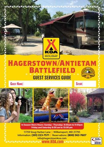Hagerstown/Antietam Battlefield KOA by AGS/Texas Advertising
