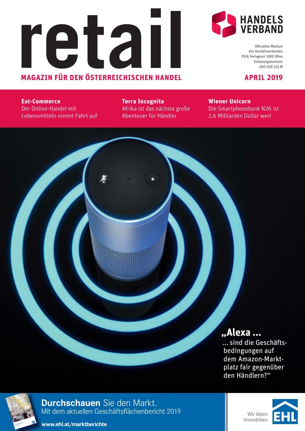 Retail April 2019 By Handelsverband Issuu