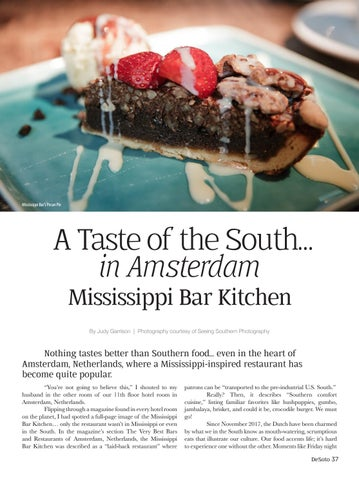 Page 37 of A Taste of the South... in Amsterdam