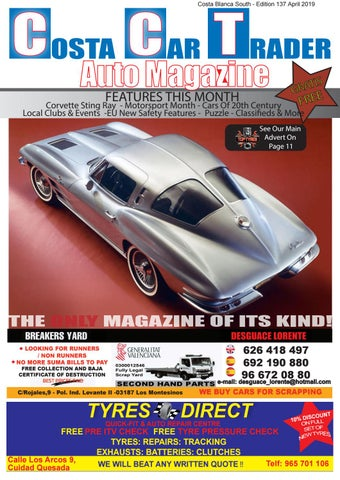 Costa Car Trader April 2019 By Costa Car Trader Issuu