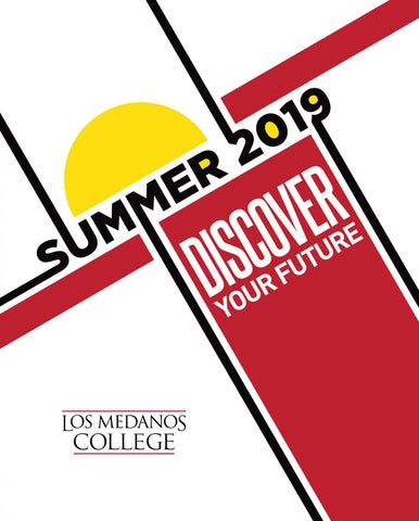 2019 Summer Class Schedule for LMC by Los Medanos College