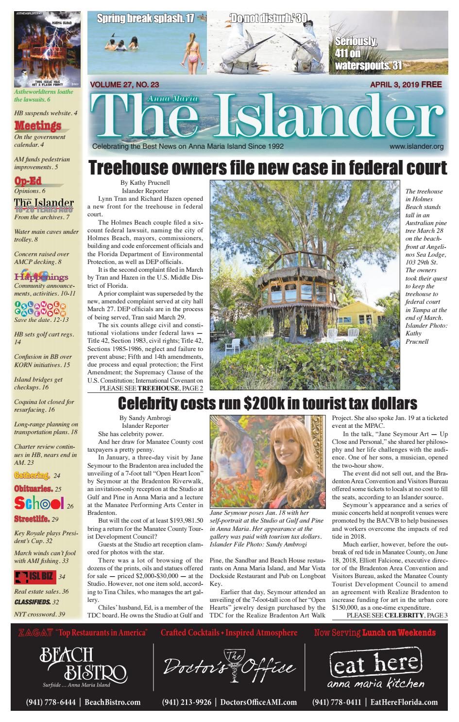 The Islander Newspaper E-Edition: Wednesday, April 3, 2019 by The