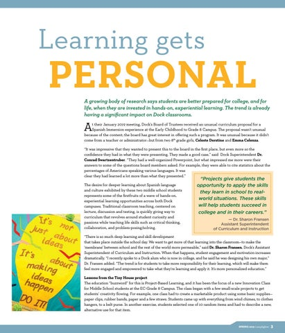 Page 5 of Learning gets personal