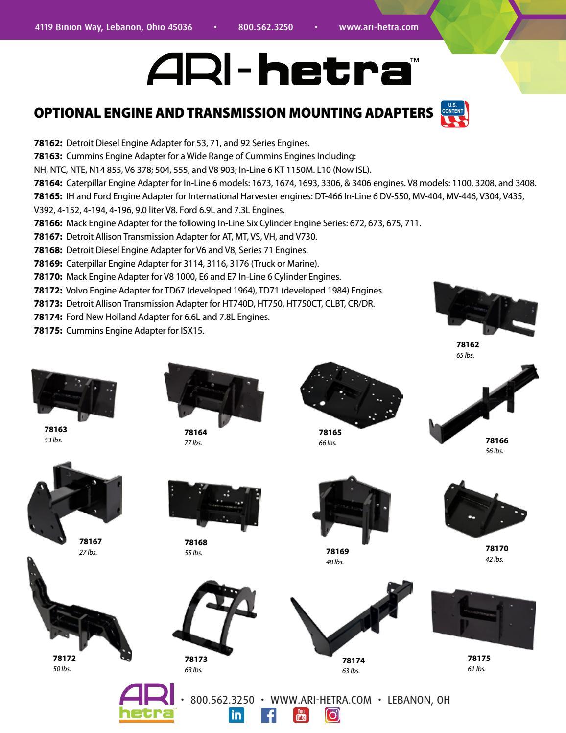 AH-06187 Diesel Engine Stand Adapters by ARI-HETRA - issuu