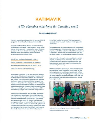 Page 15 of Katimavik
