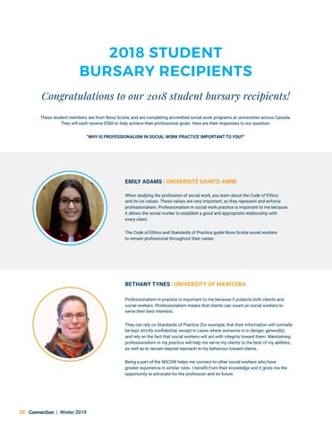Page 22 of 2018 Student Bursary Recipients