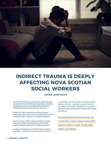 Page 8 of Indirect trauma is deeply affecting Nova Scotian social workers