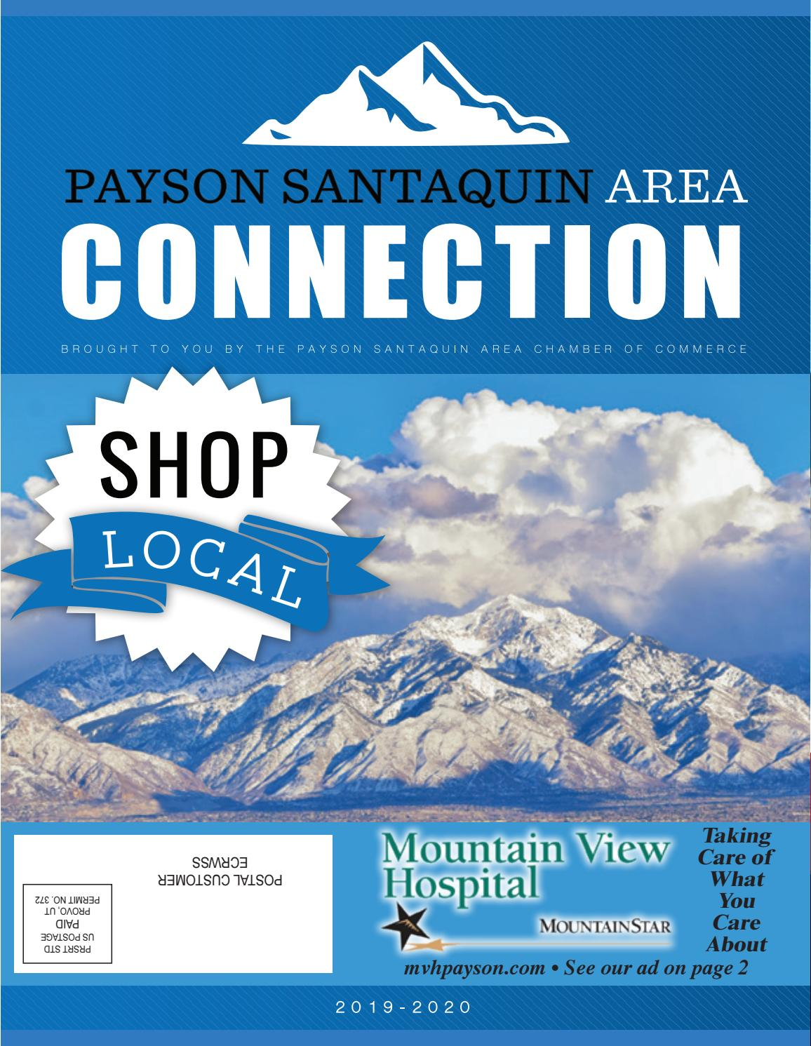 2019 Payson Santaquin Area Chamber of Commerce Connection by