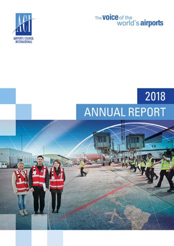 ACI Annual Report – 2018 by Airports Council International