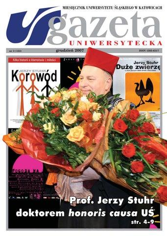 Gazeta Uniwersytecka Uś 122007 By Ko Production Issuu