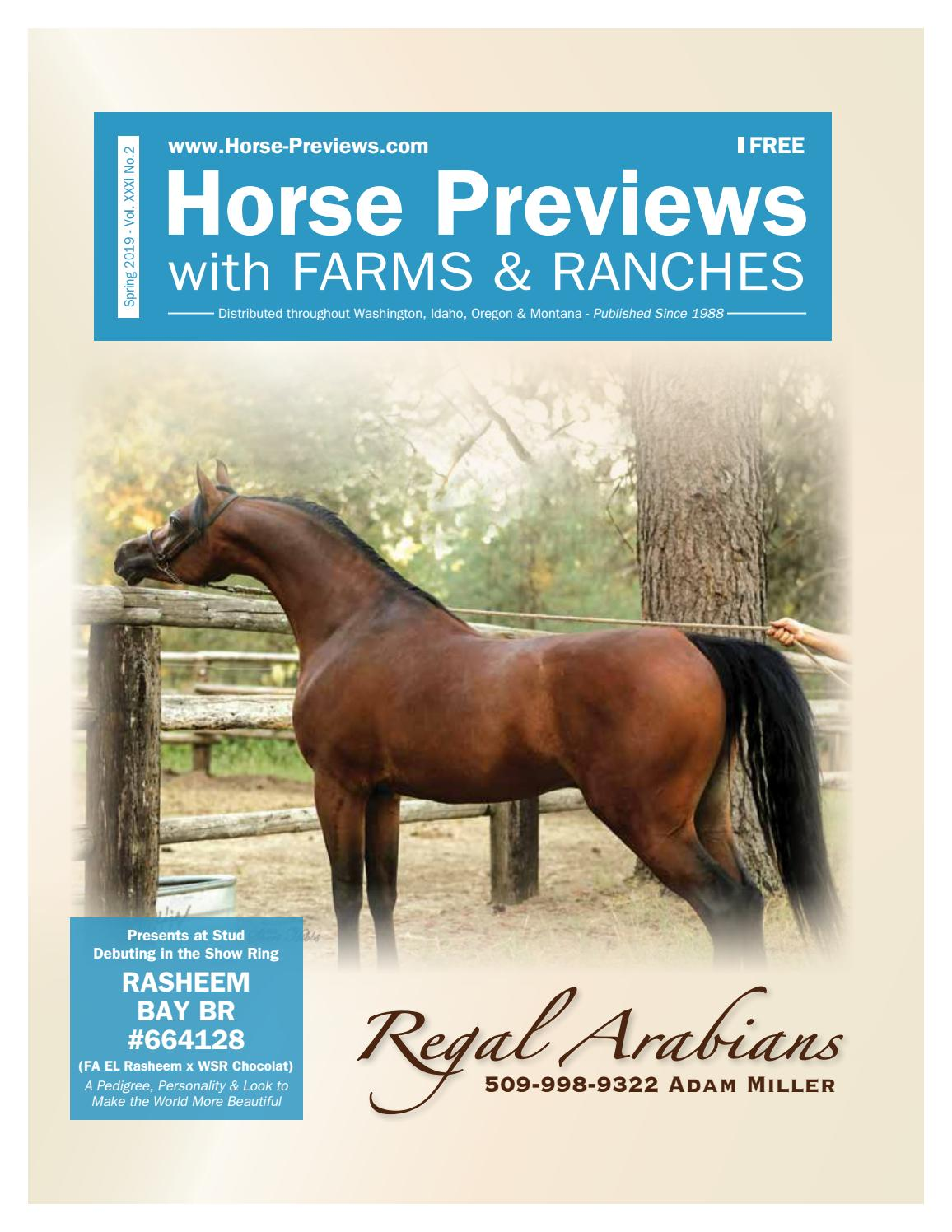 Horse Previews - Spring 2019 by Exchange Publishing - issuu on