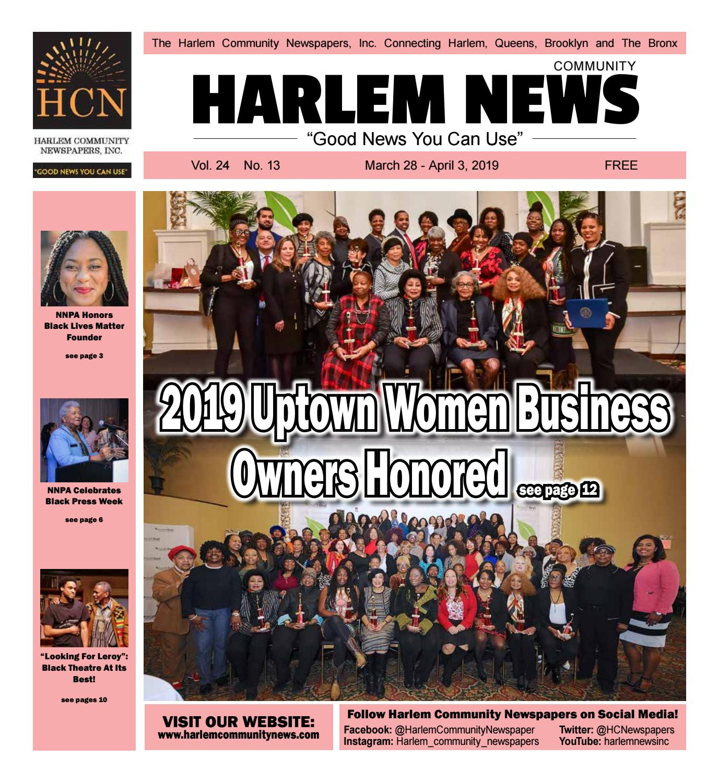 ea8c72719 Harlem Community Newspapers | March 28, 2019 by Mike Kurov - issuu