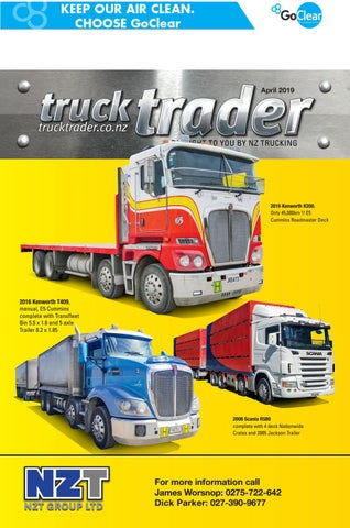 Truck Trader April 2019 by NZTrucking issuu