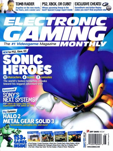 Electronic Gaming Monthly # 169 by Akward Studios - issuu