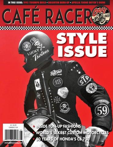 Two Motorcycle Biker Helmet Tank Cafe Racer Ton Up Boys Stickers ...
