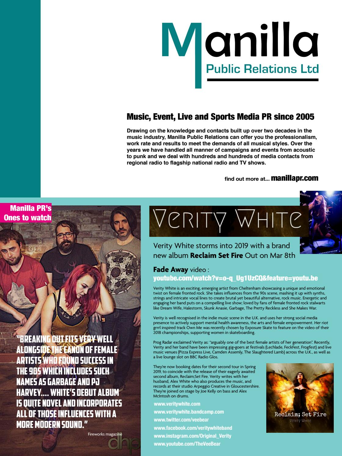 In The Club 39 April 2019 By The Perfect Pop Co Op Issuu